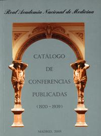 Catálogo de Conferencias Publicadas (1920-1939) (2005)